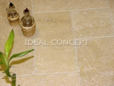 Light Tumbled Travertine photo