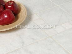 White Tumbled Marble photo