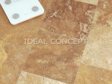 Yellow Filled Travertine photo